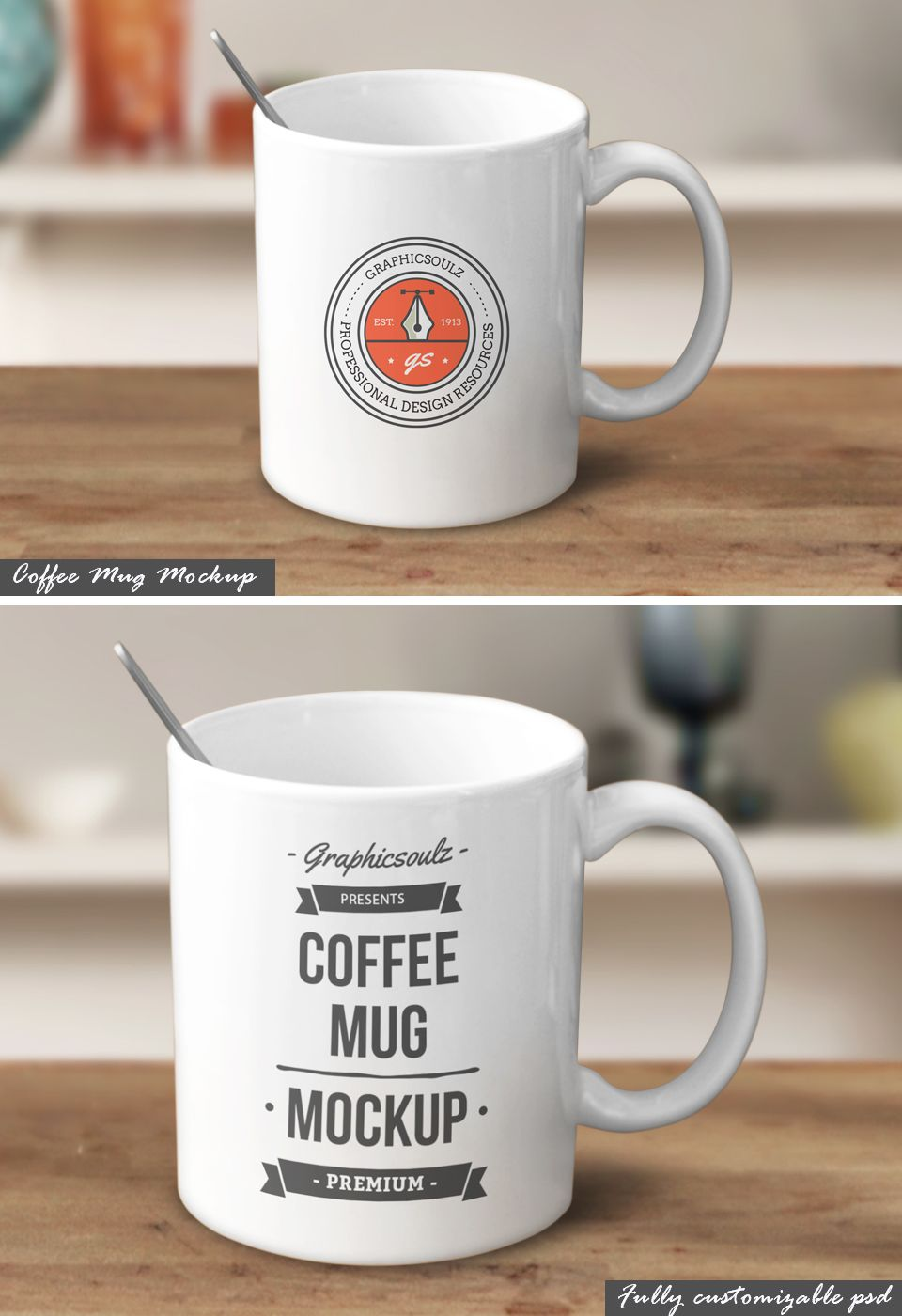 Coffee Mug Mockup Mugs, Coffee mugs, Coffee