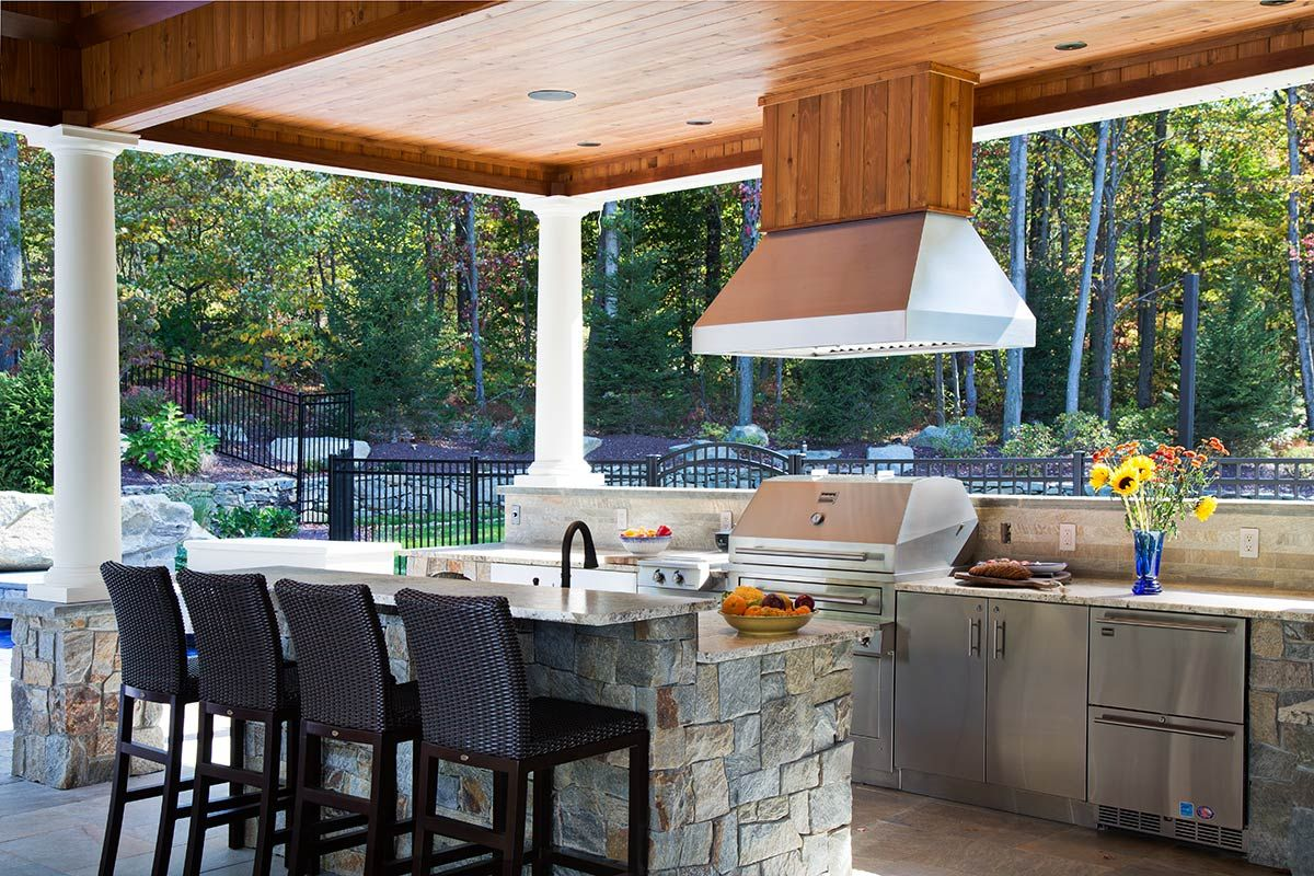 Outdoor Kitchen Designs With Pizza Oven Pinjamesxfguo On Outdoor Kitchen  Pinterest  Kitchens