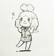 Image result for animal crossing isabelle lineart Animal