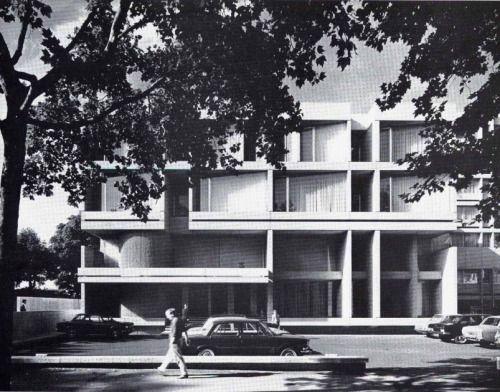 czechoslovak embassy, notting hill gate (1970) by jan bocan, jan, Innenarchitektur ideen