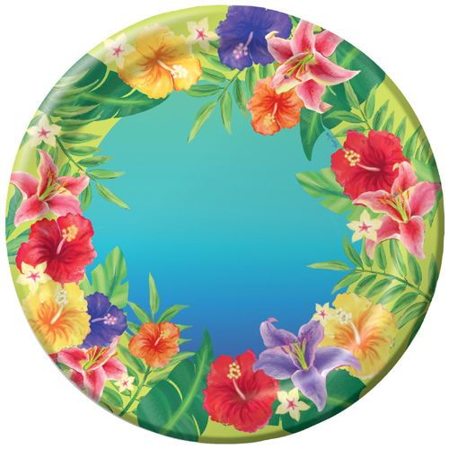 tropical+paper+napkins | Luau Paper Plates  sc 1 st  Pinterest & tropical+paper+napkins | Luau Paper Plates | tropical party ware ...