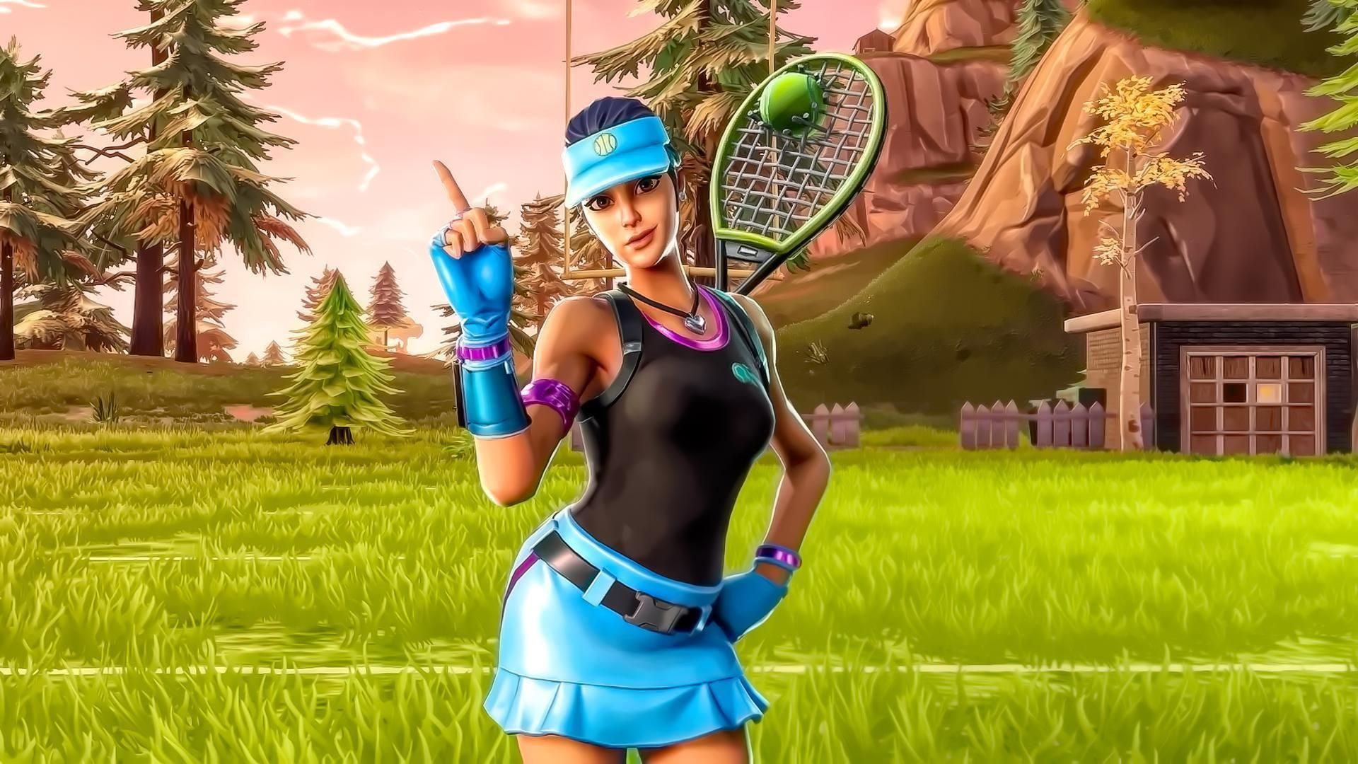 Fortnite Leaks Upcoming Volley Girl Skin Unearthed Fortnite Leaks
