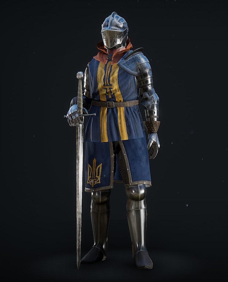 Elite Knight Mordhau Mercenaries Dark Souls Knight Armor Concept