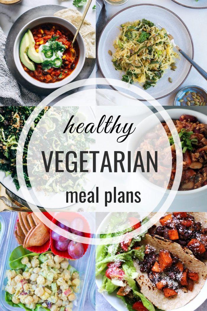 Healthy Vegetarian Meal Plan 10.21.2018 images