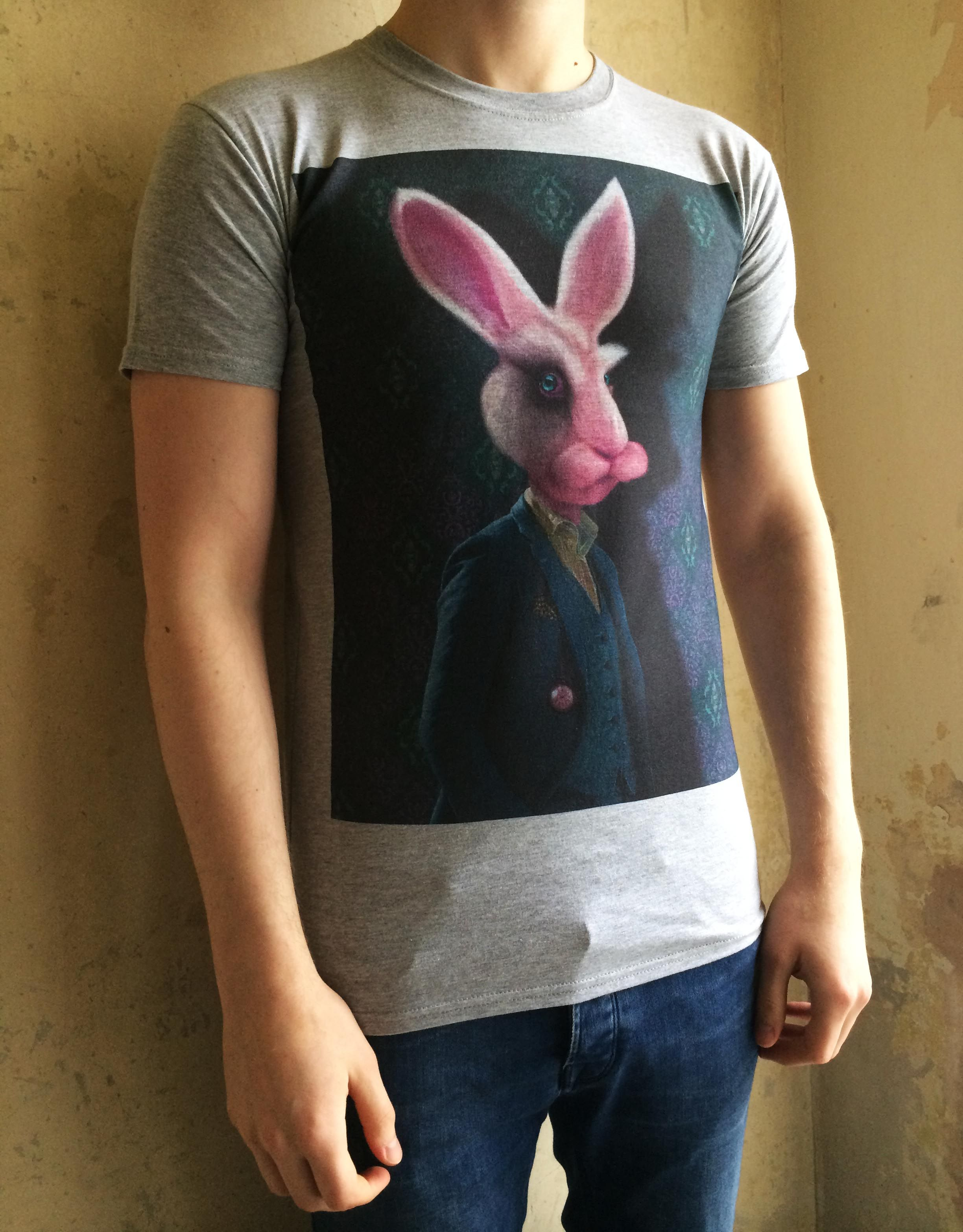 An Alternative Look At The White Rabbit But This Time As A