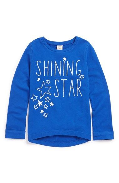 Free shipping and returns on Tucker + Tate High/Low Graphic Tee (Toddler Girls, Little Girls & Big Girls) at Nordstrom.com. Lively graphics take center stage on a long-sleeve high/low tee finished with casual rolled cuffs.
