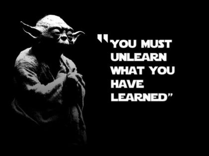 Wise words of Yoda