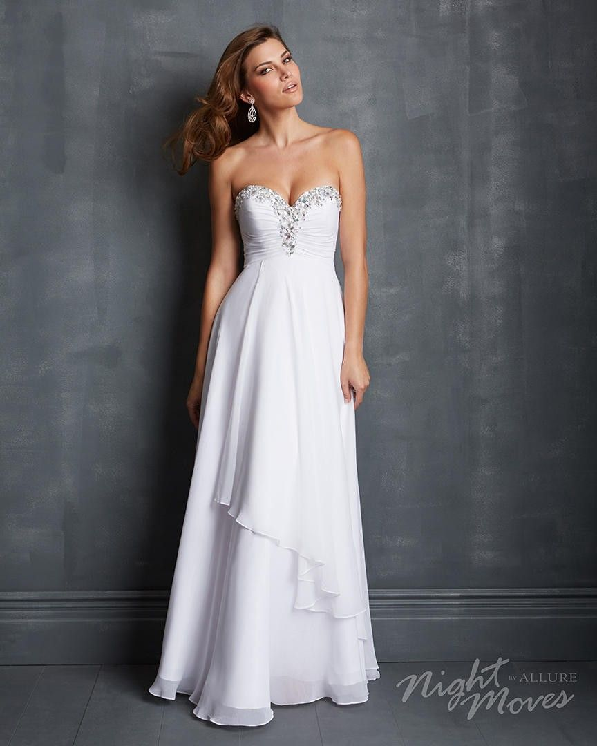 Madison James Special Occasion 7044 Night Moves by Allure $449.99 Night Moves Prom
