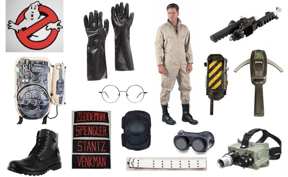 ghostbusters costume basteln kost me pinterest. Black Bedroom Furniture Sets. Home Design Ideas