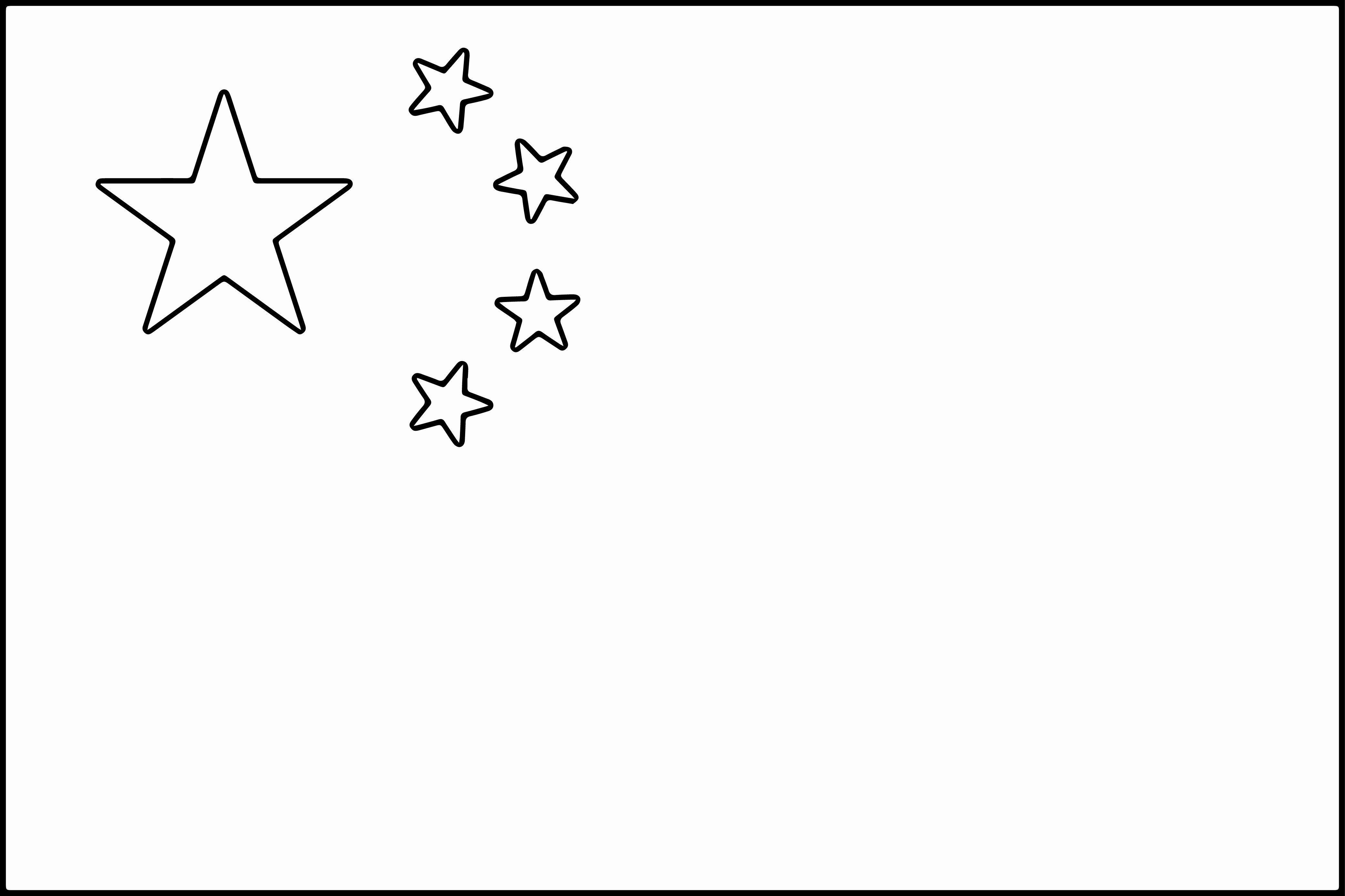 28 Chinese Flag Coloring Page