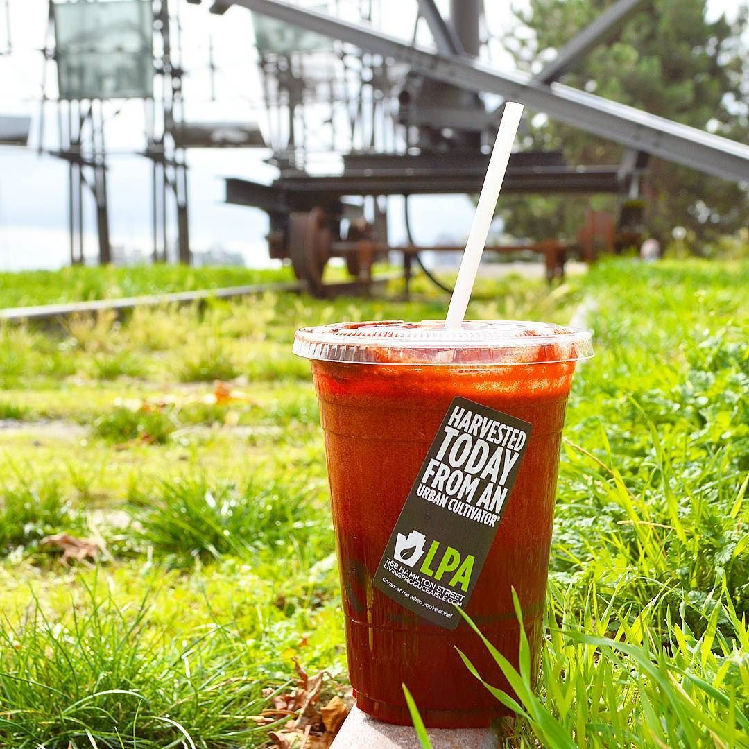 Sunny days with a smoothie are just to die for. Who knows where this is? by livingproduceaisle