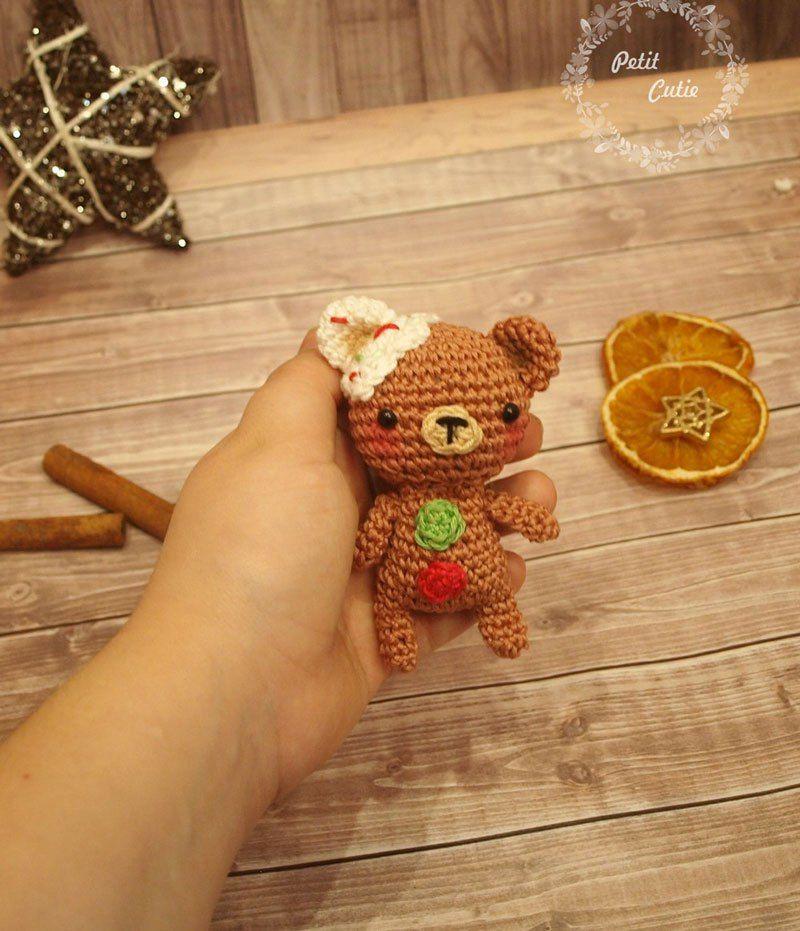 Gingerbread man and teddy crochet patterns   Pinterest   Pan de ...