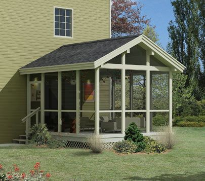Sunroom Ideas House Plans And More Screened In Porch Plans Porch Plans Screened In Porch