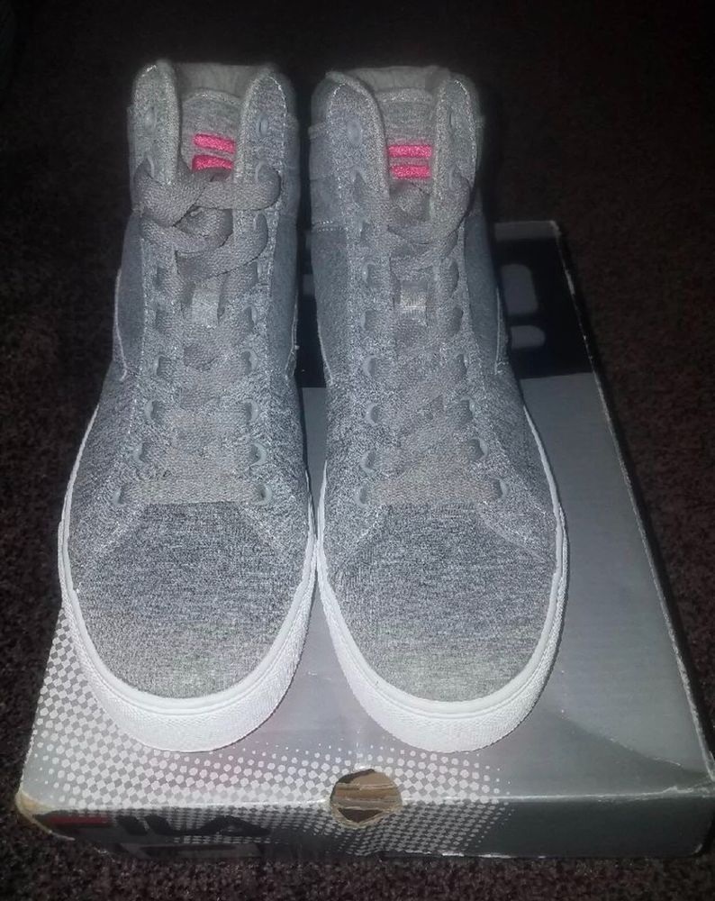 329065158132 Fila Women s Smokescreen Gray High-Top Sneaker   Size 7 Euc  fashion   clothing  shoes  accessories  womensshoes  athleticshoes (ebay link)
