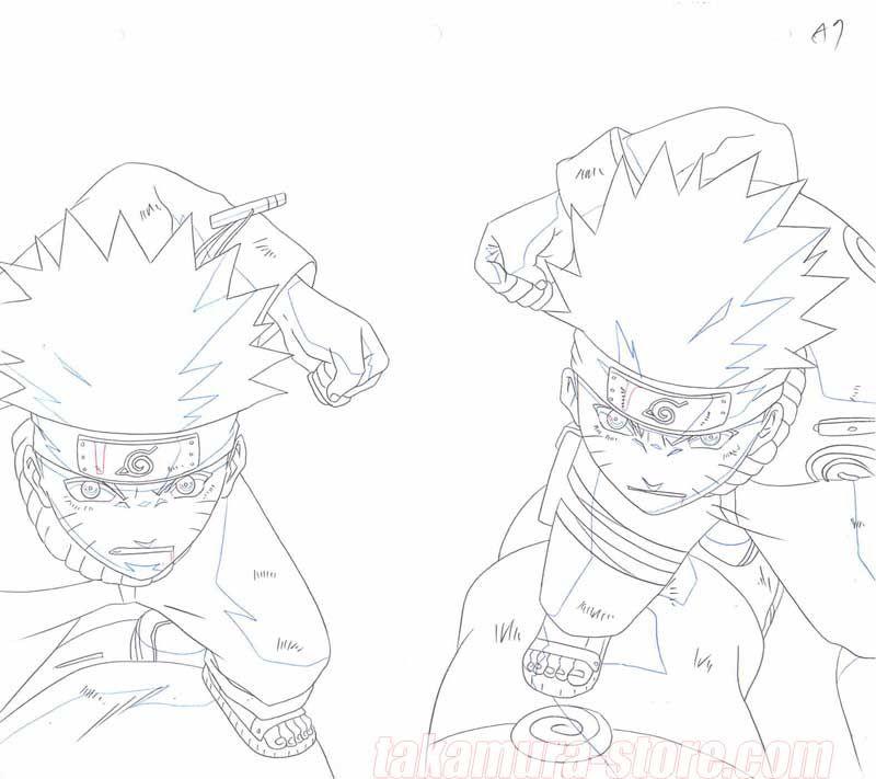 Naruto Original Drawing in 2020 Naruto sketch, Original