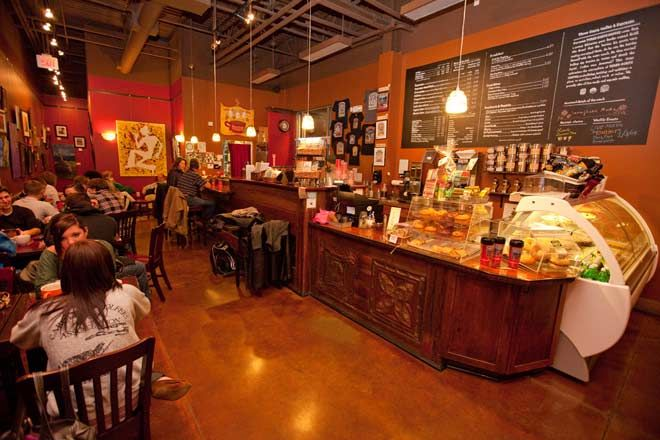 cool coffee house