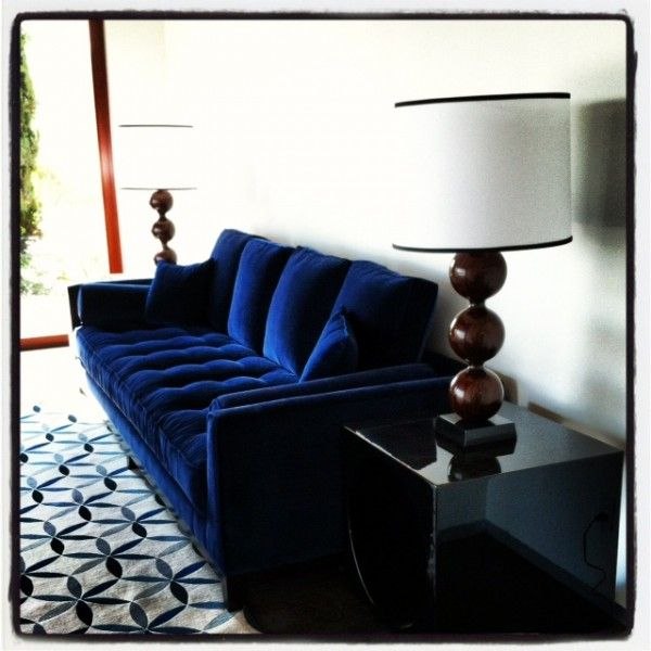 saretta tufted velvet sofa blue ava bed pictures couches custom navy wide chloe living room furniture collection