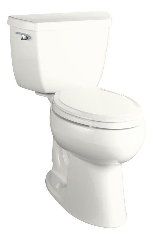 View The Kohler K 3713 Elongated Comfort Height Two Piece Toilet