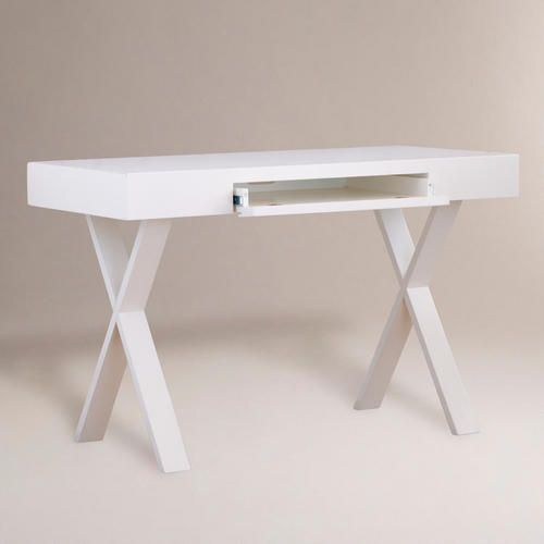 White Josephine Desk World Market 159