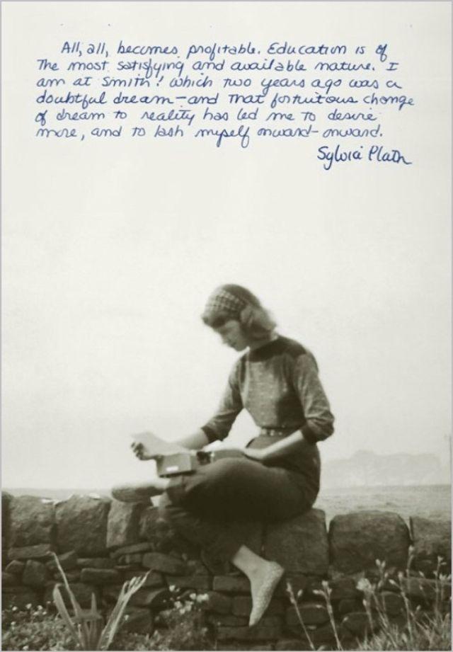 Sylvia Plath: Life of the Talented Tragic Poet Through Amazing Photos ~ vintage everyday