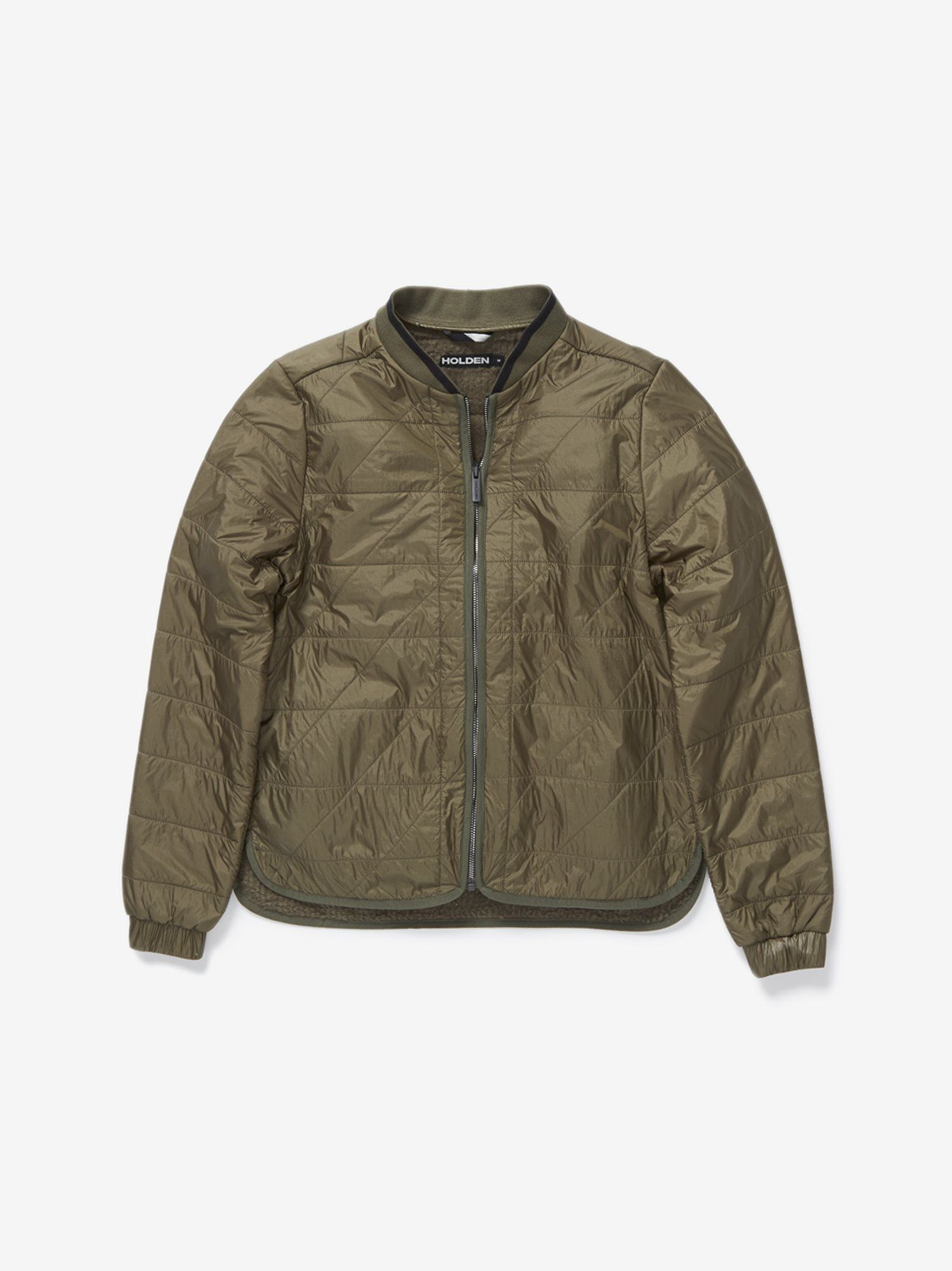 Made With Polartec Alpha And Alpha Direct Insulation This Beautifully Quilted Bomber Liner Jacket Is Designed Womens Bomber Holden Outerwear Quilted Bomber [ 2003 x 1500 Pixel ]