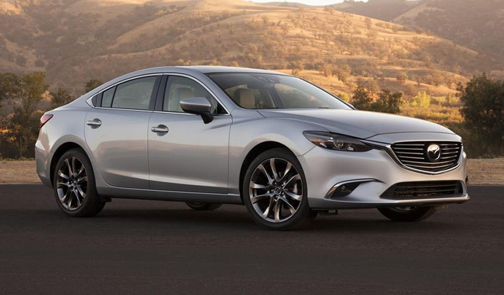 2019 Mazda 6 for to get an overhaul of. This car has been
