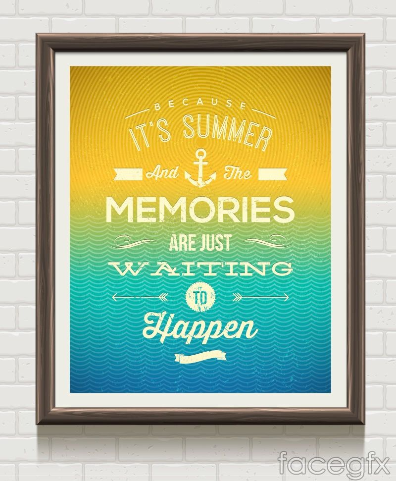 Neon mood paintings painting vector | Summer vacation ...
