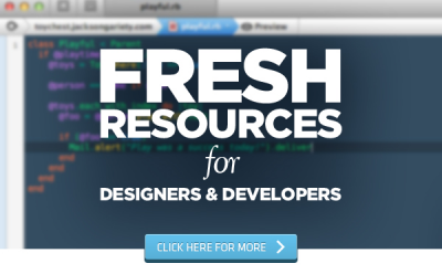 A new article has appeared on our Blog 10 Signs You Have Gone Too Far Into Freelance Design + MORE Feb 2nd - http://fusionthemes.com.au/Blog/10-signs-you-have-gone-too-far-into-freelance-design-more-feb-2nd/ We would love you to visit and check it out if web design interests you.