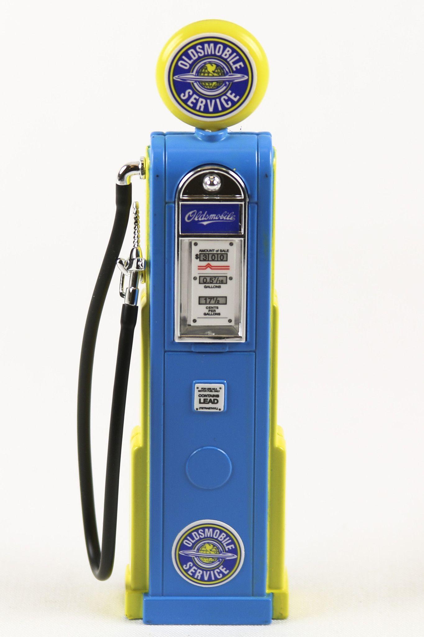 Replica Vintage Digital Gas Pump Oldsmobile Brand 1//18