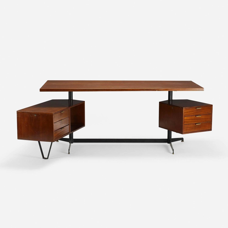 Desk By Osvaldo Borsani For Tecno 1stdibs Com Furniture Osvaldo Borsani Vintage Desk