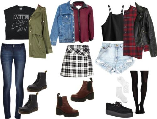 first day of school outfit tumblr - Google Search | first ...