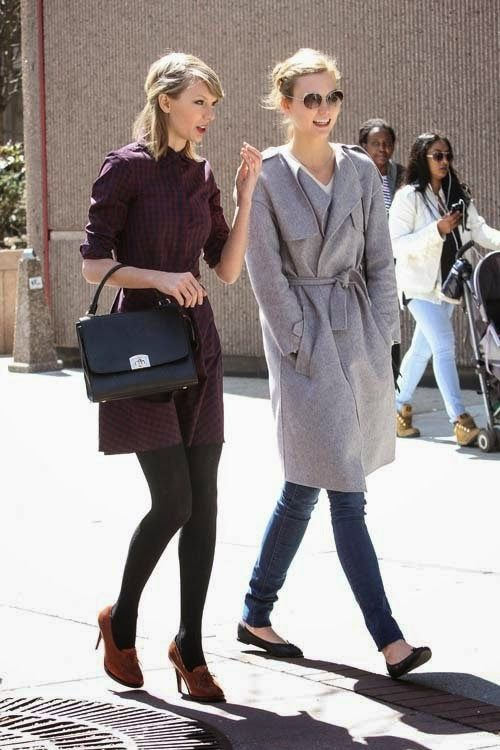 Karlie Kloss & Taylor Swift Hang Out in NYC | The Front Row View