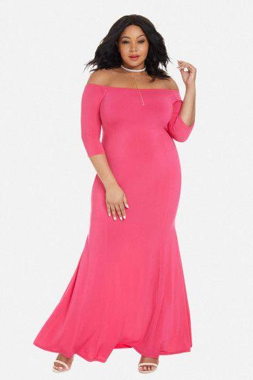 fdc47af4f72 Pin by Estrella Fashion Report on Plus Size Maxi Dresses