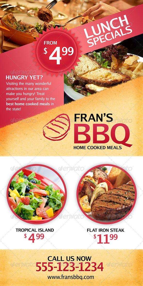 Bbq Restaurant Outdoor Banner Signage Bbq Restaurant Flat Iron Steak Healthy Foods To Eat