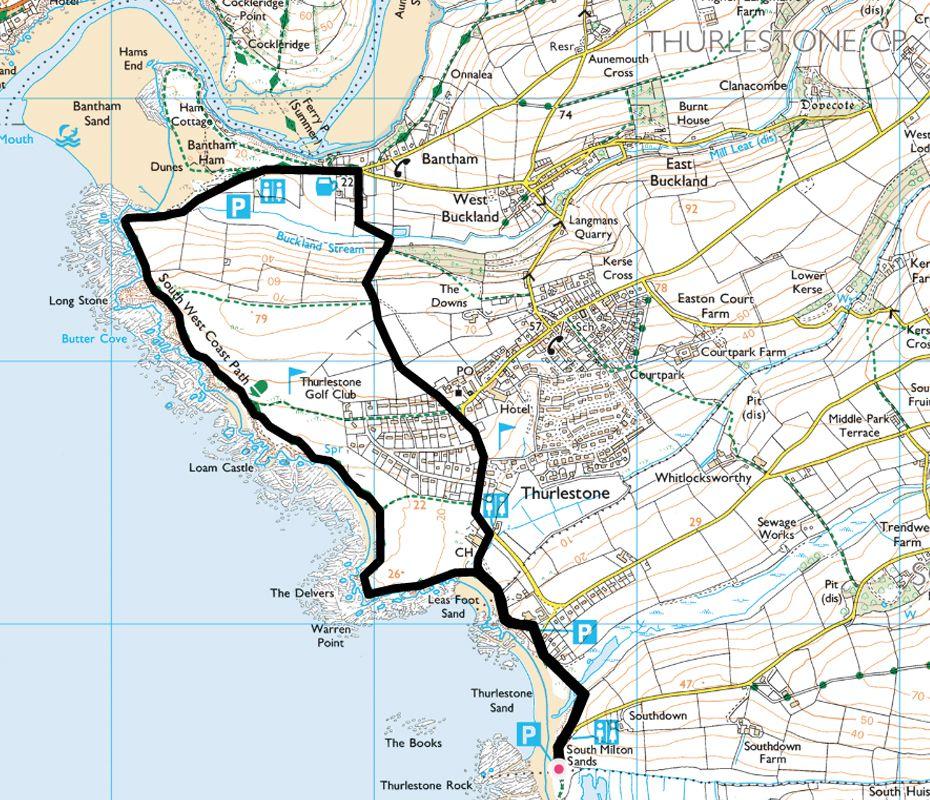 Thurlestone To Bantham Circular South Devon South West Coast Path Devon Holidays