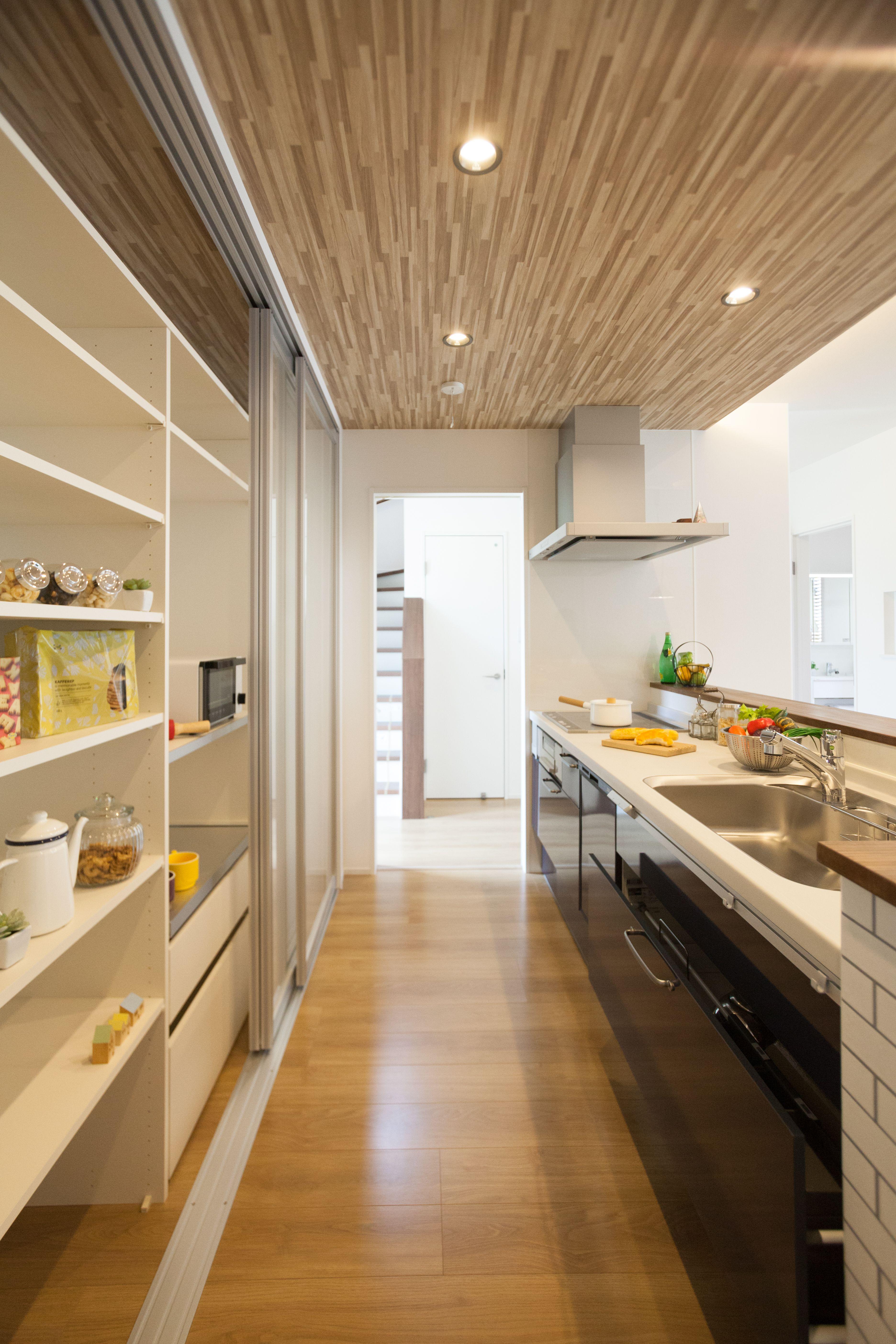 すっきり収納できるキッチンバック収納 キッチン家電から調理用品