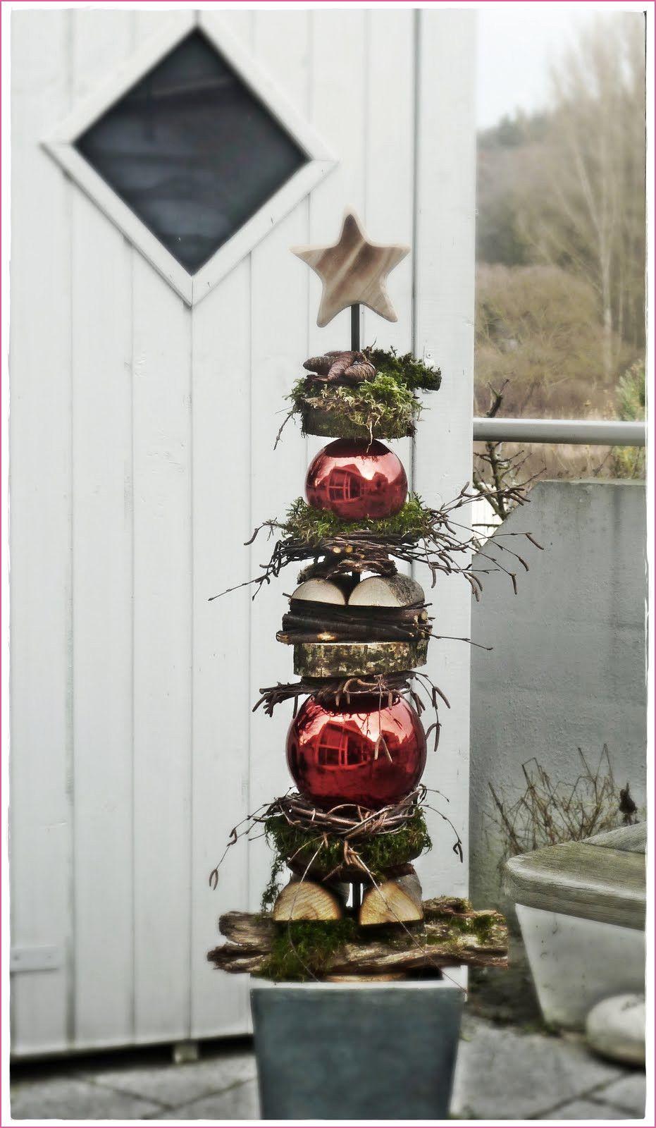 Laterne Weihnachtlich Dekorieren #rustikaleweihnachten