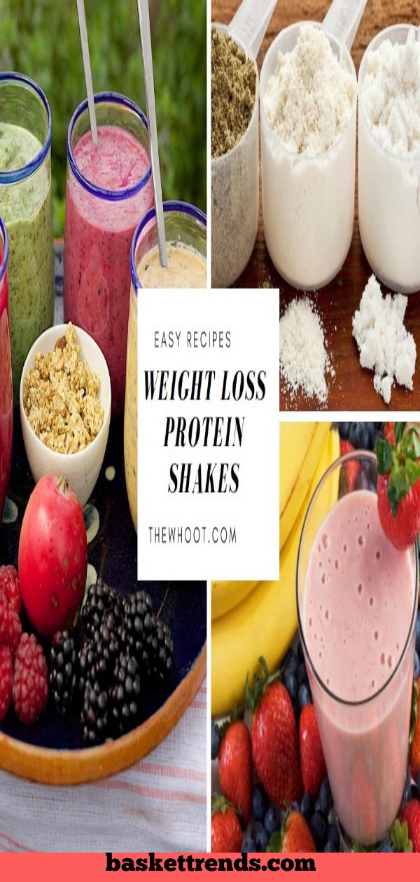 Hausgemachte Gewichtsverlust Shake