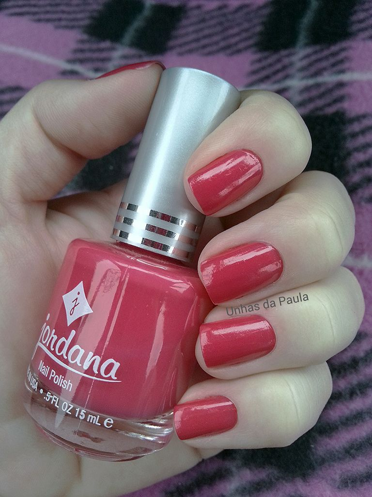 Jordana Nail Polish #935 Pink Rage   NAILS   Pinterest