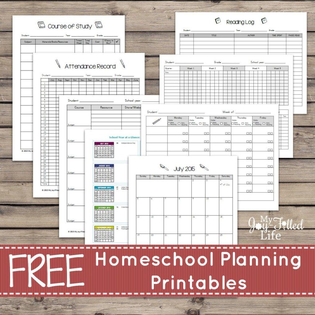 FREE Printable Planners, Calendars, & Organizers