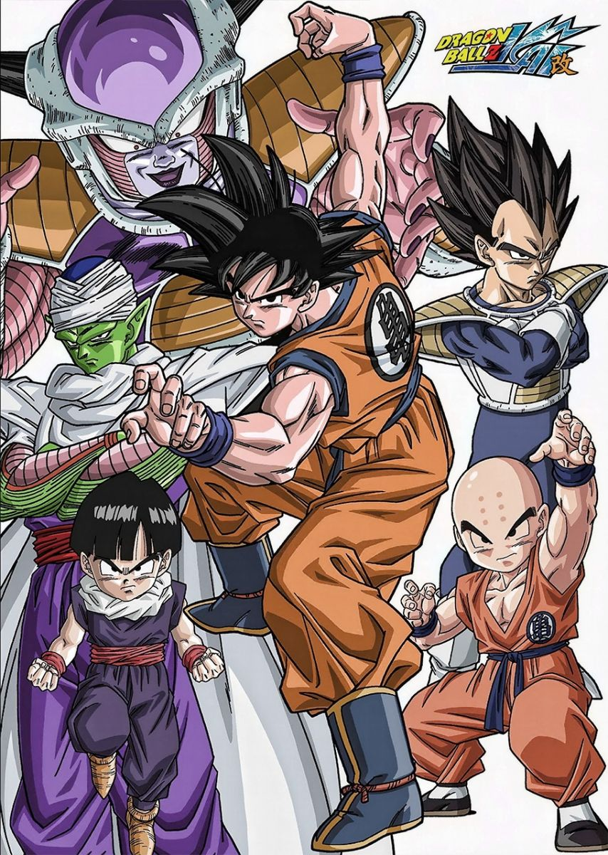 Dragon Ball Kai Poster Dragon ball, Anime dragon ball