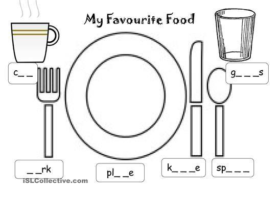 Image result for kitchen worksheets free life skills for Kitchen utensils in spanish