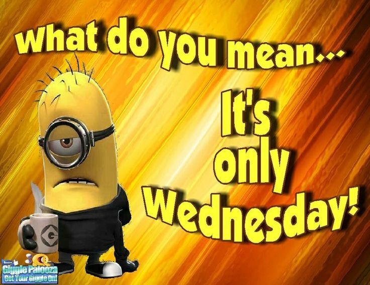 Only Wednesday quotes quote days of the week minion