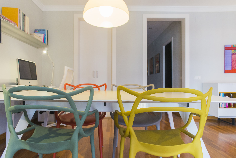 Ideas de #Salon, estilo #Contemporaneo color #Marron, #Ocre, #Verde ...