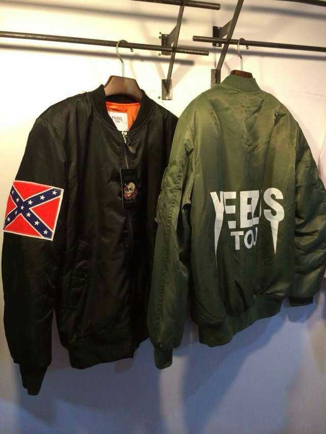 1fb32614b YEEZUS tour MA1 jackets limit edition yeezy black colors in Clothing