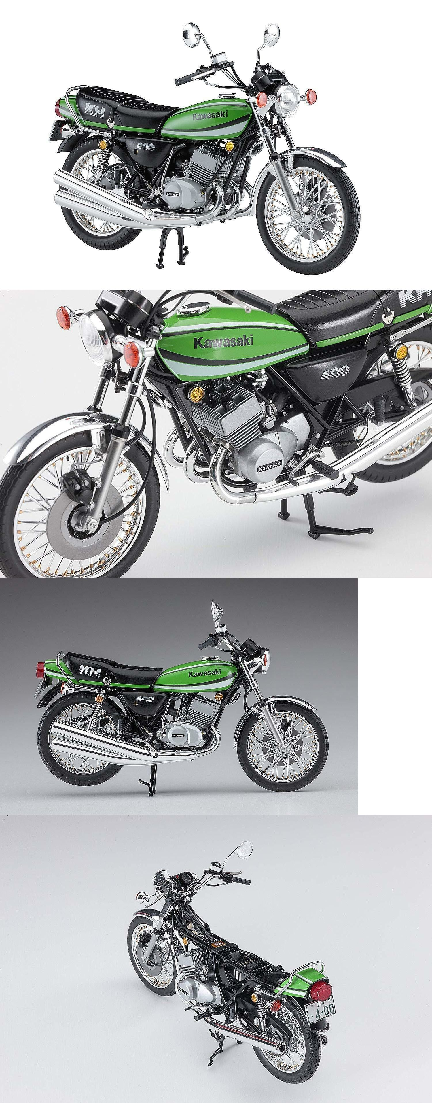 Motorcycle 2591 Hasegawa 1 12 Bike Series Kawasaki Kh400 A7 From Japan Buy It Now Only 38 On Ebay Motorcycle Haseg Kawasaki Motorcycle Model Kits Bike