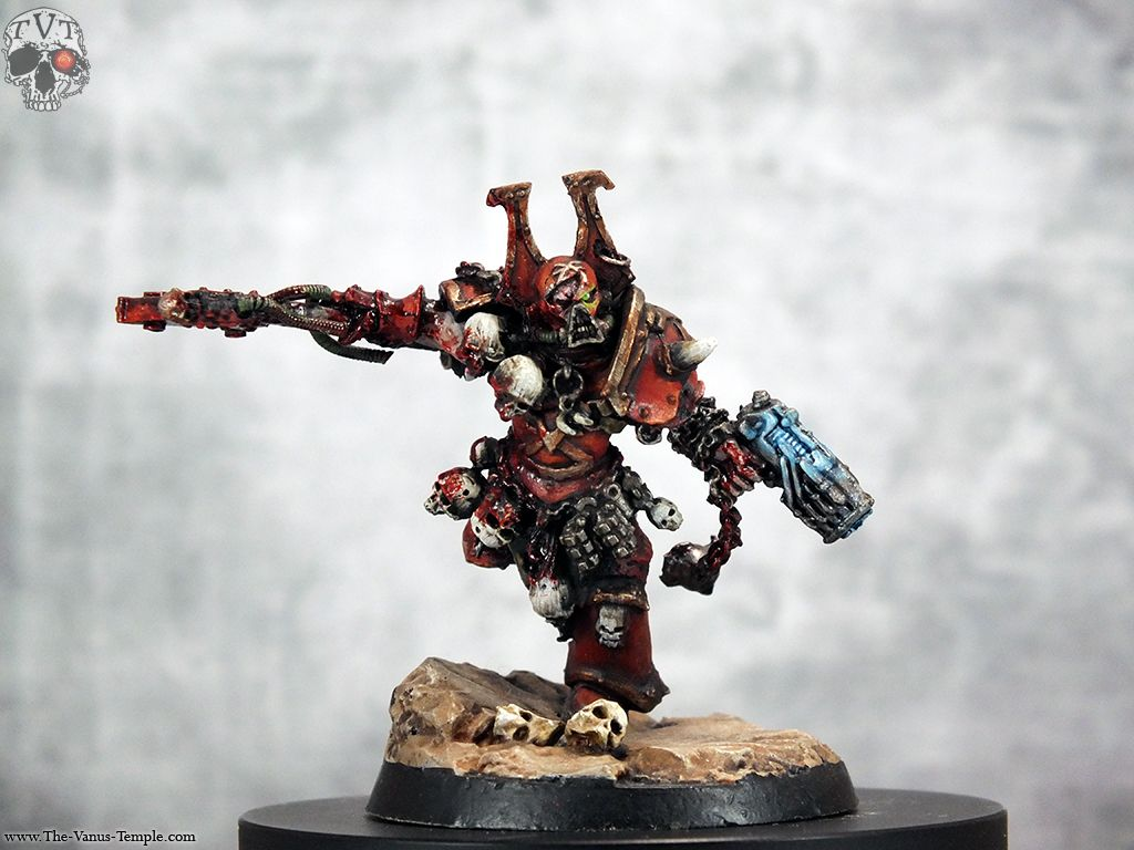 Jolly Plaguefather The Vanus Temple Kharn The Betrayer Photosbeen Playing With My New Camera Tonight I Decided T Warhammer Art Space Marine Games Workshop