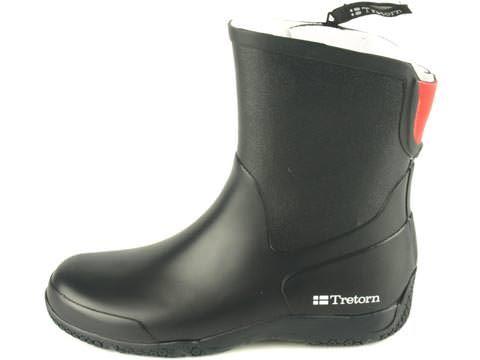 Kumisaappaat mustat Tretorn Hovdala 59 e - black rubber boots