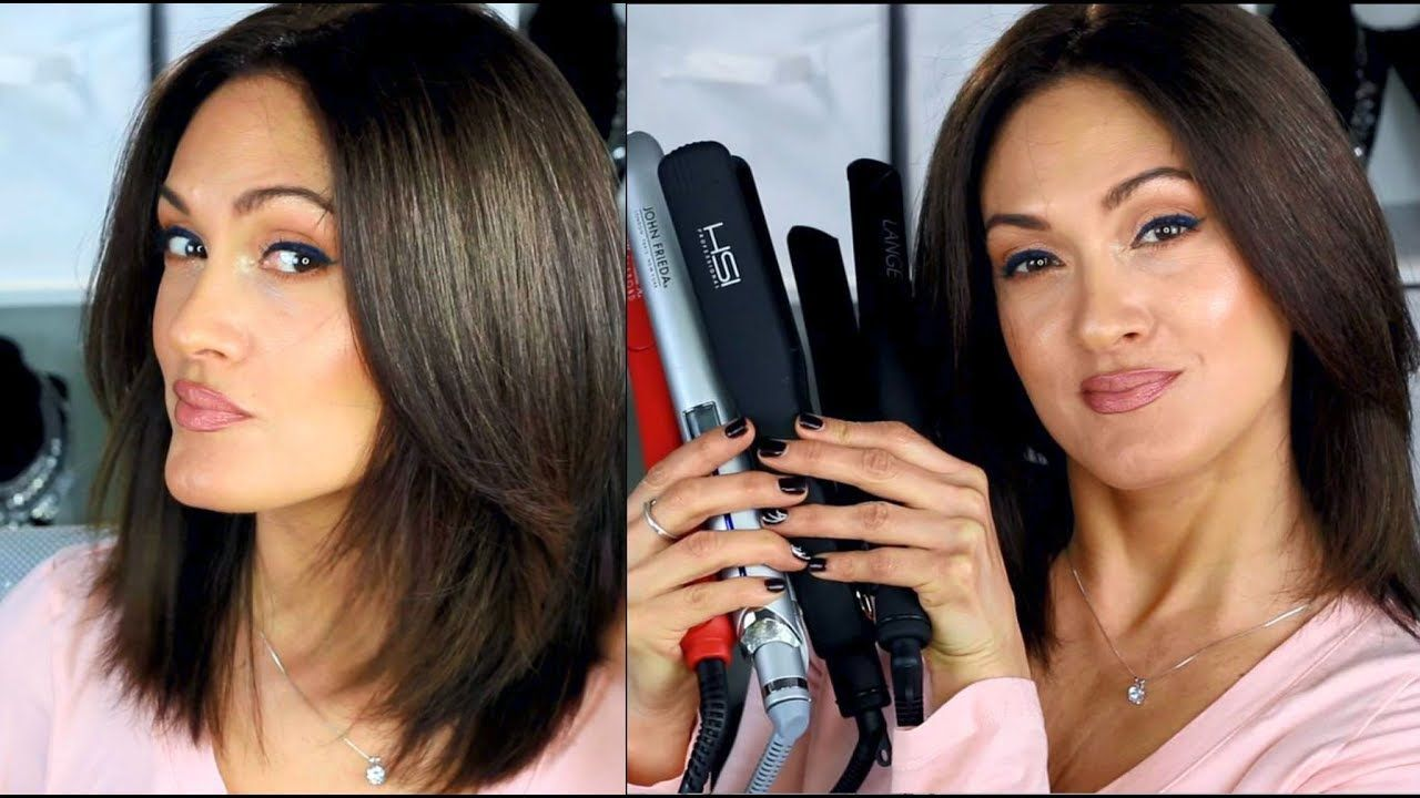 WHY MY FLAT IRON RUINED MY HAIR + Best Hair Straightener - YouTube #flatironwaves
