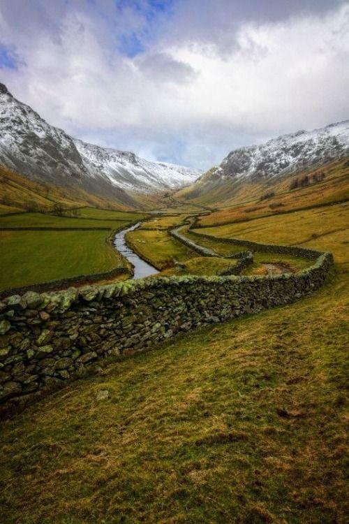 Longsleddale, Cumbria, England, by Ian Hex